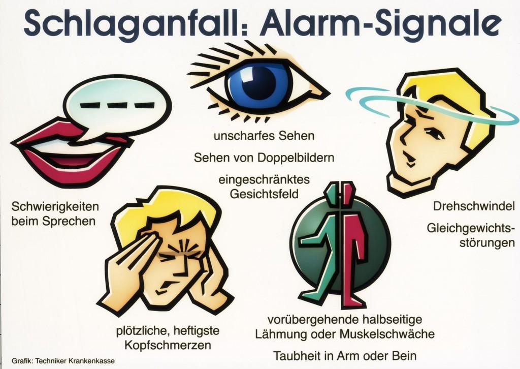 Schlaganfall-Alarmzeichen: Wenn Sie diese Symptome erkennen, sofort den Notarzt rufen!